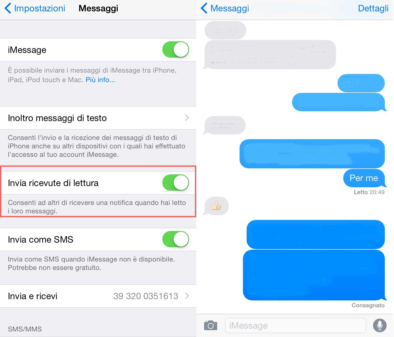 Non ricevo più gli SMS sul mio iPhone dopo aver cambiato la SIM